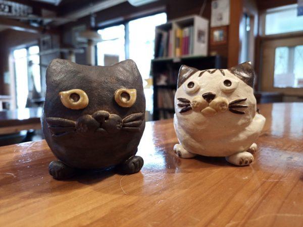 猫の花器!
